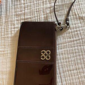 Coach wallet wristlet clutch